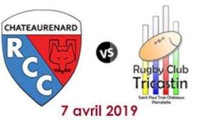 Chateaurenard / Tricastin ( Fédérale 2 - Séniors )