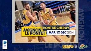 Avignon - Le Pontet / Pont de Cheruy ( Basketball NM1 - Séniors  )