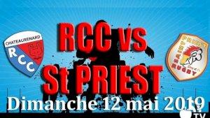 Chateaurenard / Saint Priest ( Coupe - Séniors )