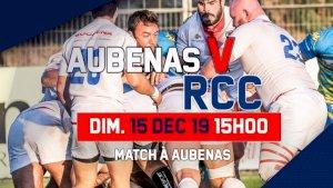Châteaurenard  / Aubenas ( Rugby Fédérale 1 - Séniors - 12ème journée )