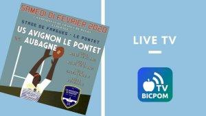 Avignon - Le Pontet rugby / Aubagne ( Fédérale 3 - Séniors )