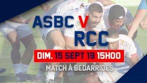 Chateaurenard / Bedarrides ( Fédérale 1 - Séniors - 2ème journée )