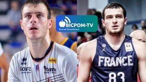 Axel JULIEN et Clement CAVALLO ( ITWTIME Basket - JEEP ELITE -  )