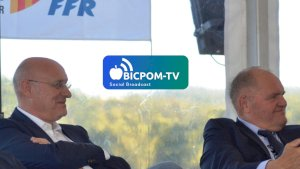 Bernard LAPORTE et Henri-Pierre MONDINO ( ITWTIME RUGBY - FFR -  )