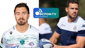 Alexandre DUMOULIN et Vincent MARTIN ( ITWTIME Rugby - TOP 14 -  )
