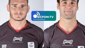 Etienne HERJEAN et Joffrey MICHEL ( ITWTIME Rugby - PRO D2 -  )