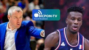 Laurent LEGNAME et Lahaou KONATE ( ITWTIME Basket - JEEP ELITE et ESPAGNE -  )