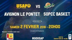 Avignon-Le Pontet / Sopcc basket ( NM2 - Séniors )