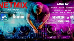 LIVE MIX CARITATIF part 1 ( Local Deejays -  )