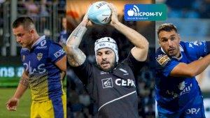 JORIS CAZENAVE, Grégory ANNETTA et LUDOVIC RADOSAVLJEVIC ( ITWTIME Rugby - PRO D2 -  )