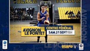 Avignon-Le Pontet / Centre Fédéral ( NM1 - Séniors )