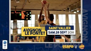 Avignon-Le Pontet / Saint Vallier ( NM1 - Séniors )