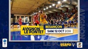 Avignon-Le Pontet / Besançon ( NM1 - Séniors )
