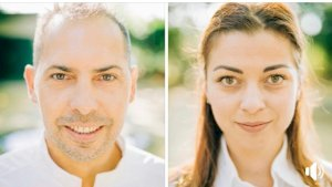 4ème démo (  Jùstine Aurélie Imbert et J-michel Leclerc et Pedro Plat : Rouget barbet au fenouil  -  )
