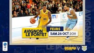 Avignon-Le Pontet / Feurs ( NM1 - Séniors )