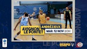 Avignon- Le Pontet / Andrézieux ( National 1 - Séniors )