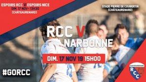 Chateaurenard / Narbonne ( Fédérale 1 - Séniors )